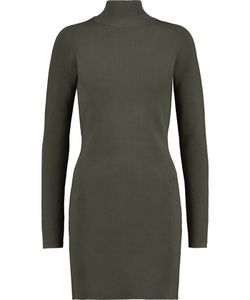 Dion Lee | Stretch-Knit Turtleneck Mini Dress