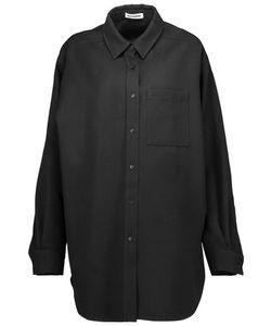Jil Sander   Wool-Twill Shirt
