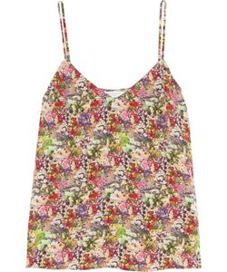 Equipment | Layla Print Washed-Silk Camisole
