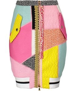 Moschino | Cotton-Blend Bouclé Mini Skirt