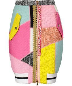 Moschino | Cotton-Blend Bouclé Mini Skirt
