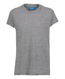 M.i.h Jeans | Striped Cotton And Linen-Blend T-Shirt