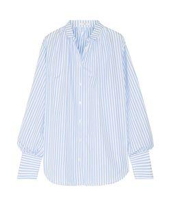 Tome | Oversized Striped Cotton-Poplin Shirt