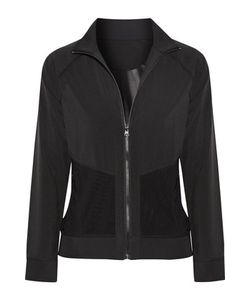 Purity Active | Mesh-Trimmed Stretch Jacket