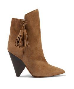 Isabel Marant | Leyton Tasseled Suede Ankle Boots