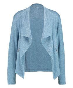 Majestic | Draped Linen And Silk-Blend Jersey Jacket