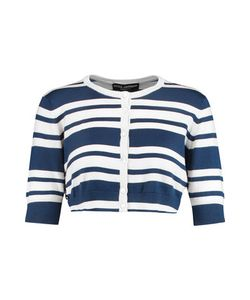 Dolce & Gabbana | Cropped Striped Cashmere And Silk-Blend Cardigan