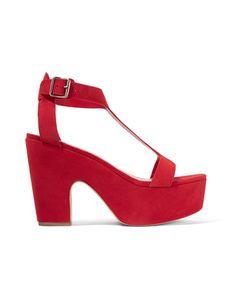 Loeffler Randall | Minette Suede Platform Sandals
