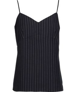 Tibi | Delmont Pinstriped Wool-Blend Camisole