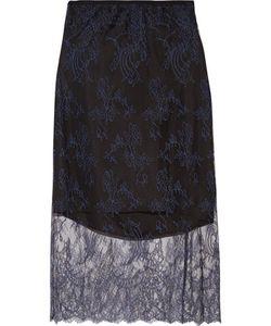 Tibi | Chantilly Lace Midi Skirt