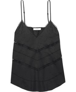 Iro | Maisie Lace And Pointelle-Trimmed Jacquard Camisole