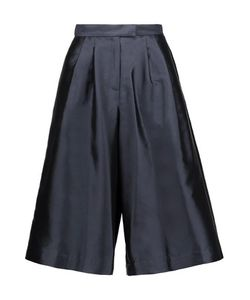 Suno | Pleated Silk And Cotton-Blend Faille Culottes