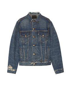 R13 | Rebel Embroide Distressed Denim Jacket