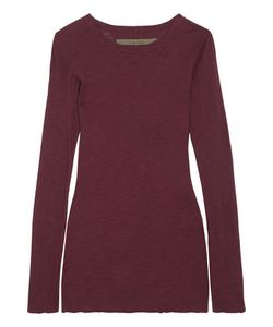 Enza Costa | Ribbed Cotton-Jersey Top
