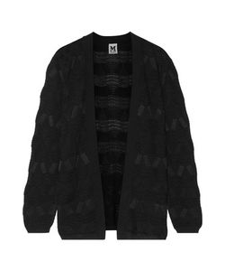 M Missoni | Textured Crocheted Wool-Blend Cardigan