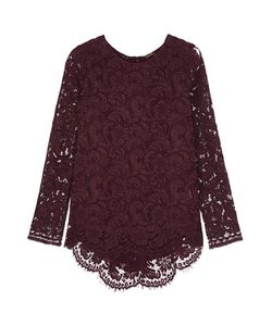 Adam Lippes | Pleated Lace Top