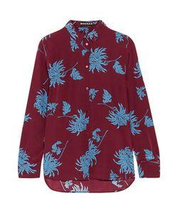 Rochas | Print Silk Crepe De Chine Shirt