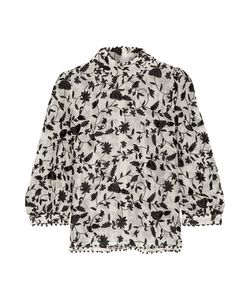 Zimmermann | Embellished Embroidered Cotton And Silk-Blend Organza Blouse