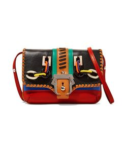 Paula Cademartori | Sylvie Petite Embellished Leather Shoulder Bag