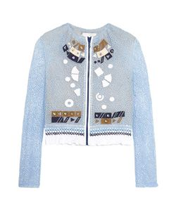 Peter Pilotto | Solar Appliquéd Corded Lace Jacket