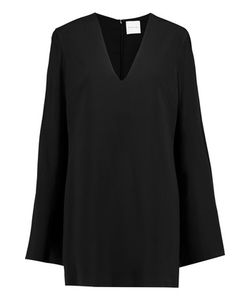 Dion Lee | Cape-Effect Stretch-Crepe Mini Dress
