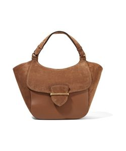 Michael Kors Collection | Josie Large Suede And Leather Tote