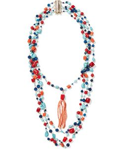 Rosantica | Tone Stone And Bead Necklace