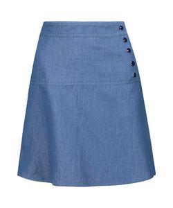 Vanessa Seward | Banjo Washed-Denim Mini Skirt