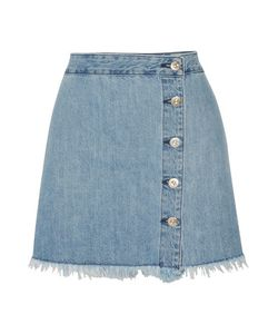 3X1 | Ws Fringed Denim Mini Skirt