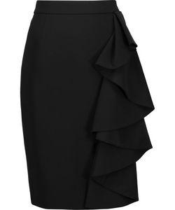 Moschino | Ruffled Cady Skirt