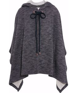 See by Chloé | Hooded Jersey Cape
