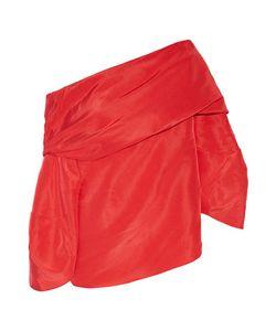 Rosie Assoulin | Off-The-Shoulder Silk-Faille Top