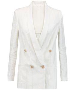 Brunello Cucinelli   Sequin-Embellished Linen And Cotton-Blend Jacket