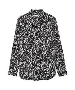Equipment | Slim Signature Printed Washed-Silk Shirt