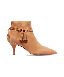 Loeffler Randall | Tasseled Suede Ankle Boots
