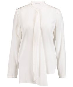 Dion Lee | Draped Silk-Crepe Shirt