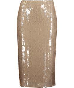 Nina Ricci | Sequined Silk Skirt