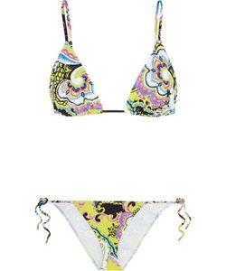 Etro | Printed Triangle Bikini