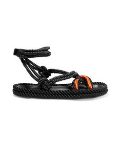 Isabel Marant | Macramé And Leather Sandals