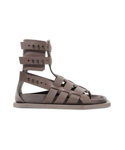 Rick Owens | Woven Leather Sandals