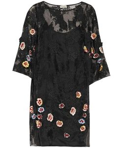 Suno | Embellished Embroidered Lace Mini Dress