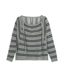 Soyer | Baja Draped Striped Linen And Cotton-Blend Sweater