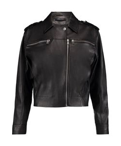J Brand | Maisie Leather Biker Jacket