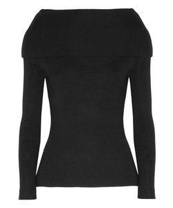 Totême | Jaca Off-The-Shoulder Ribbed-Knit Sweater