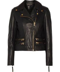 Muubaa | Gladiator Leather Biker Jacket
