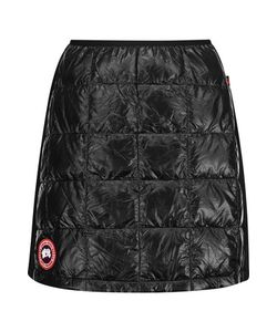 Canada Goose | Hybridge Lite Jersey-Paneled Quilted Shell Down Mini Skirt