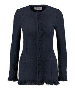 Derek Lam 10 Crosby   Frayed Cotton-Blend Jacket
