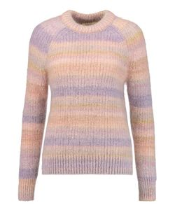 Michael Kors Collection | Striped Mohair And Silk-Blend Sweater