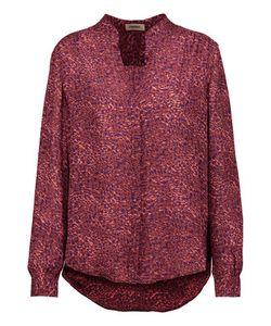 L'agence | Bianca Printed Silk Crepe De Chine Shirt