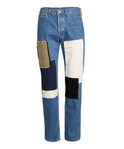 Topman | Finds Fabric Patch Relaxed Fit Jeans